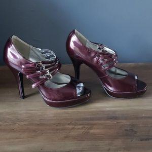Purple Rampage Heels